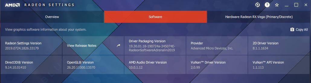 Radeon hardware