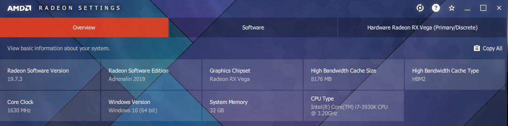 Radeon overview