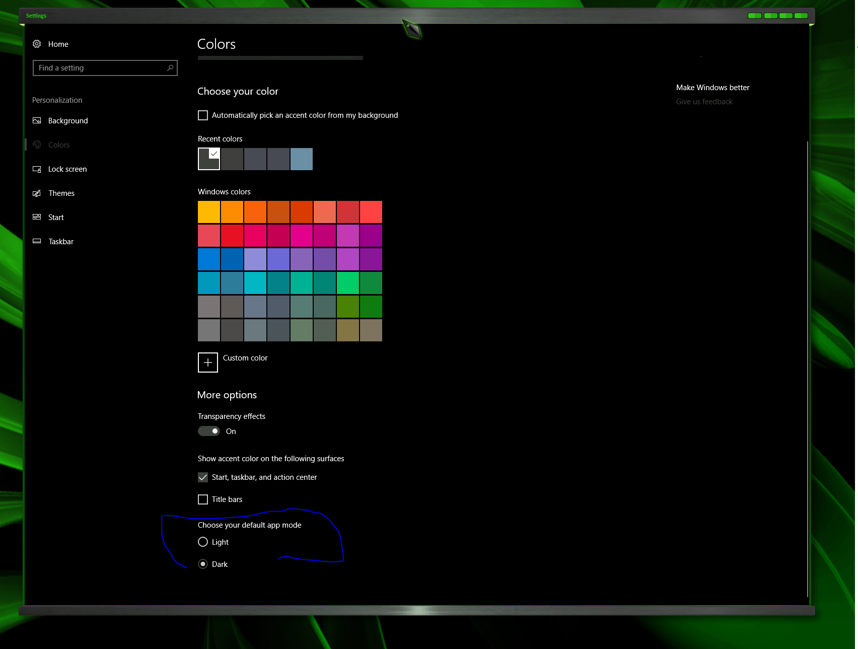 Windows not being skinned properly latest Windows 10 release