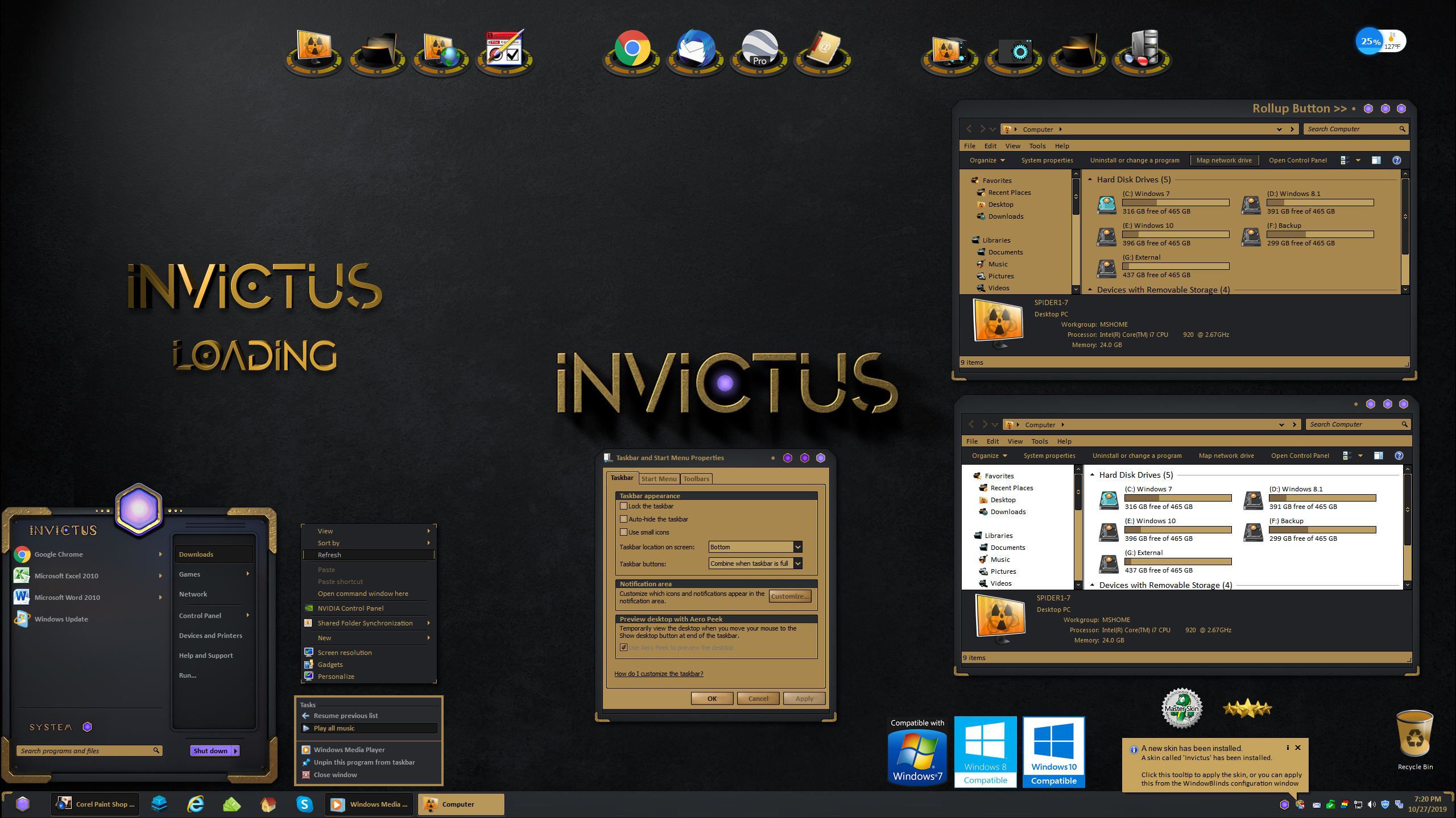 Invictus for Windowblinds