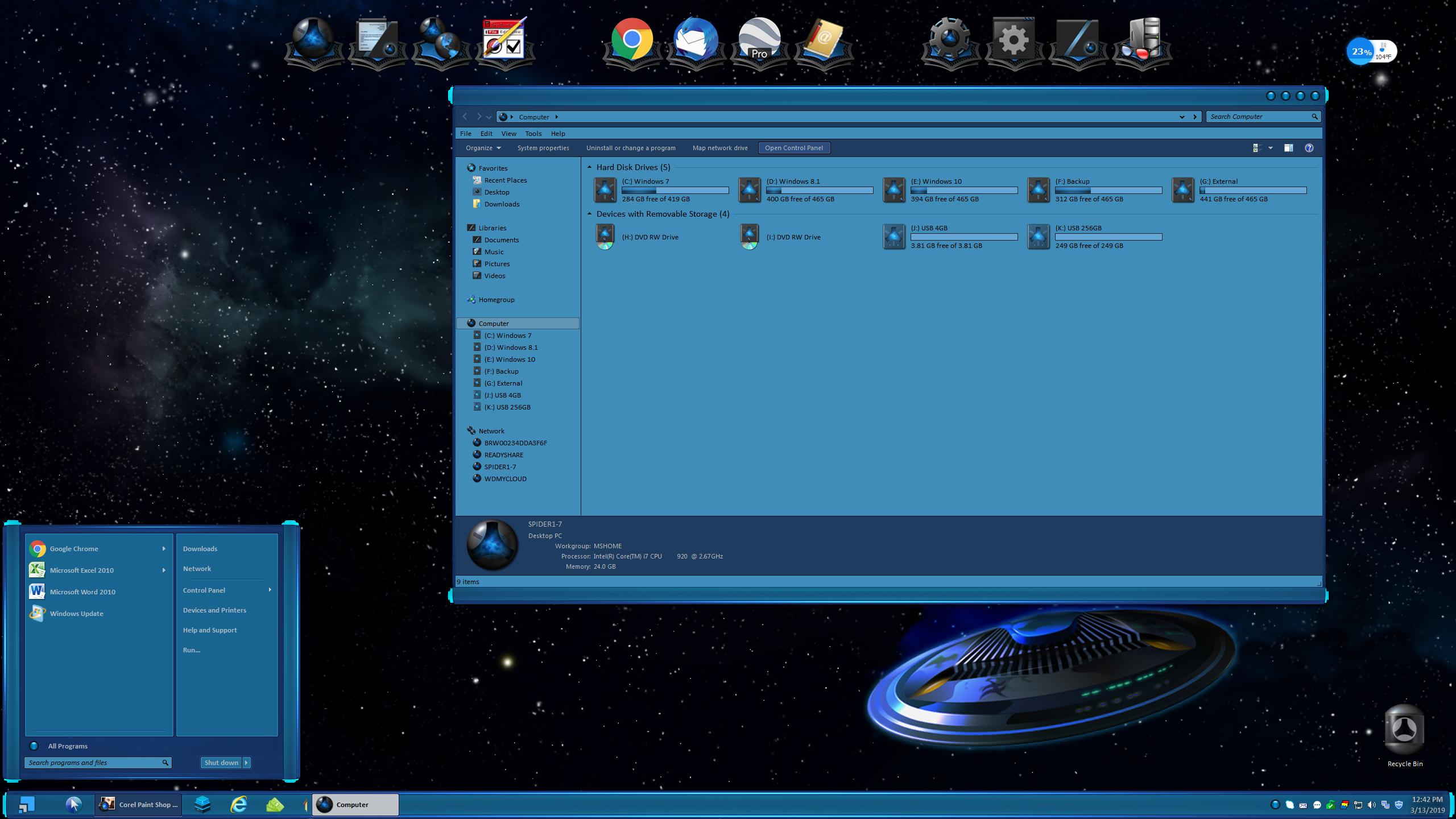 Pentium for Windowblinds