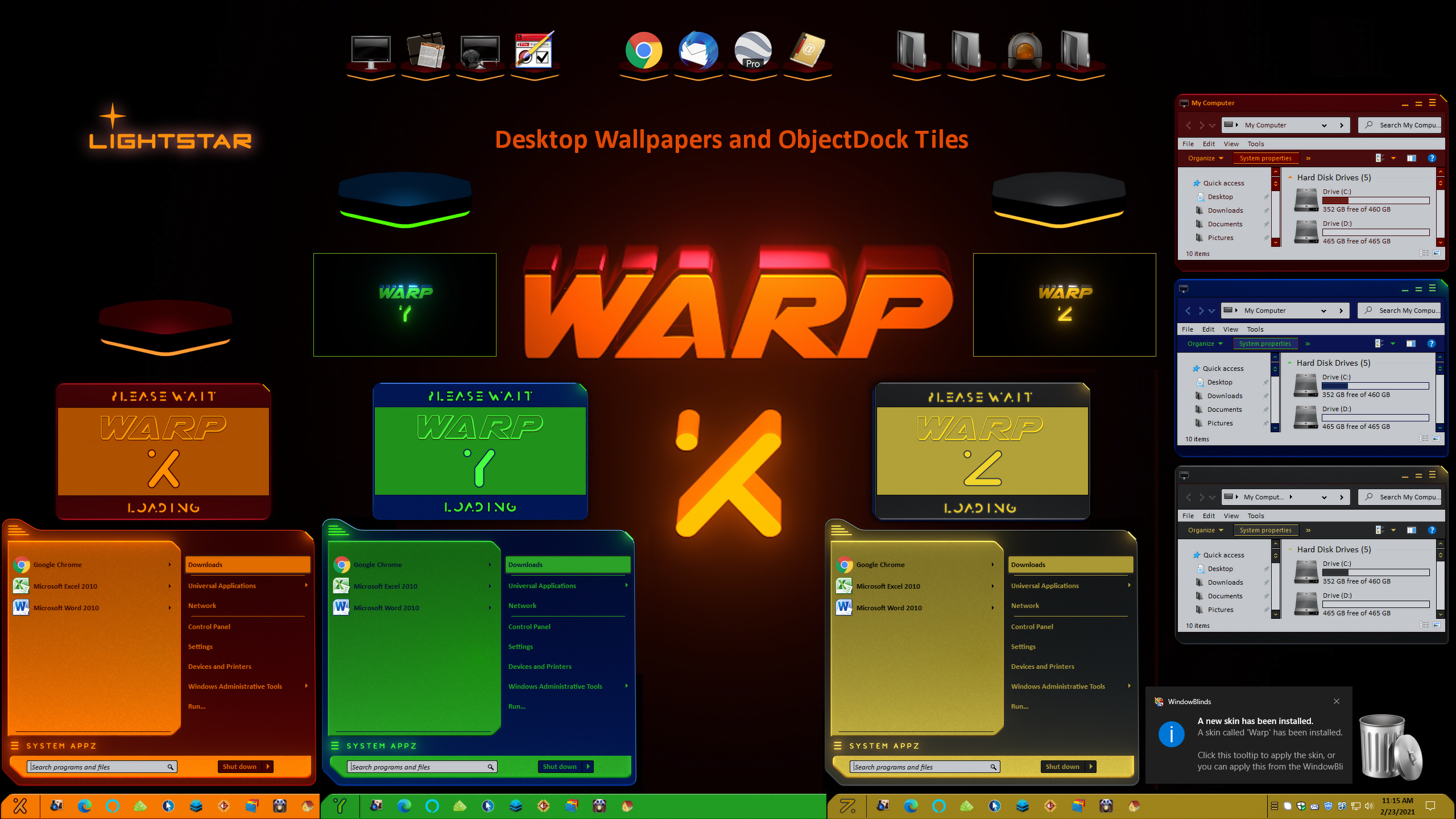Warp for Windowblinds