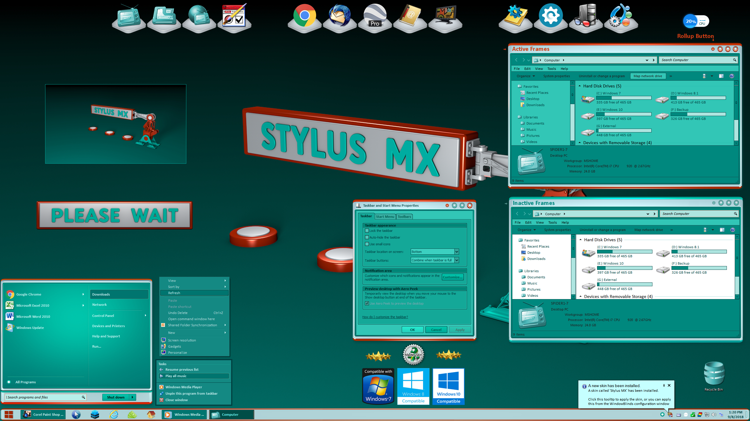 Stylus MX for Windowblinds