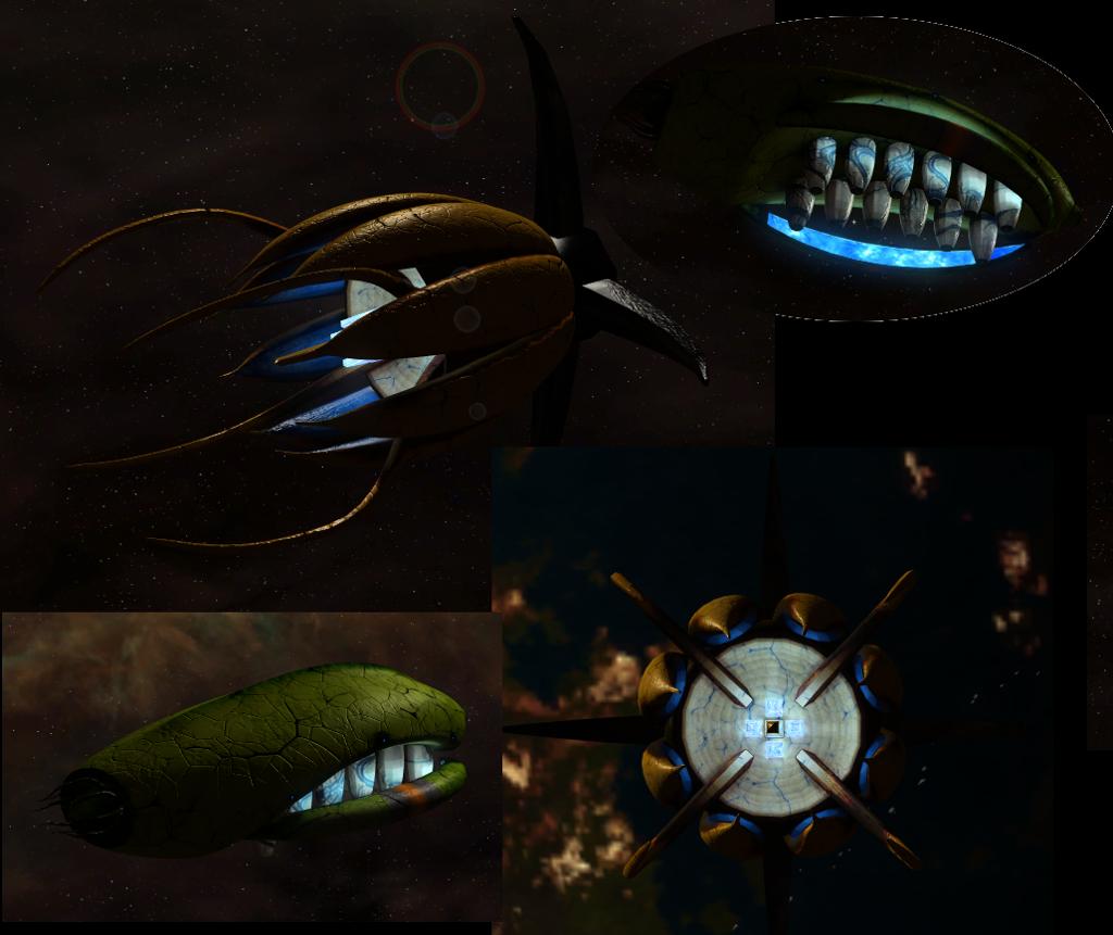 Vorlon defense and colony ship