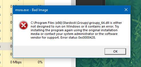 groupy error