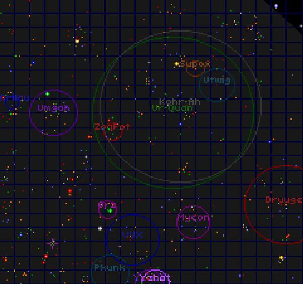 SCII starmap