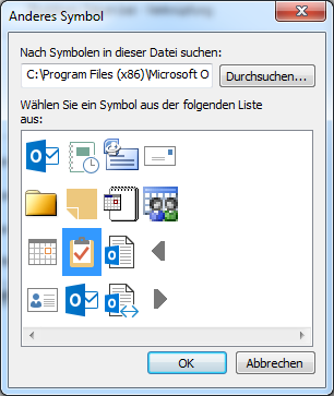 Icons stored in Outlook.exe