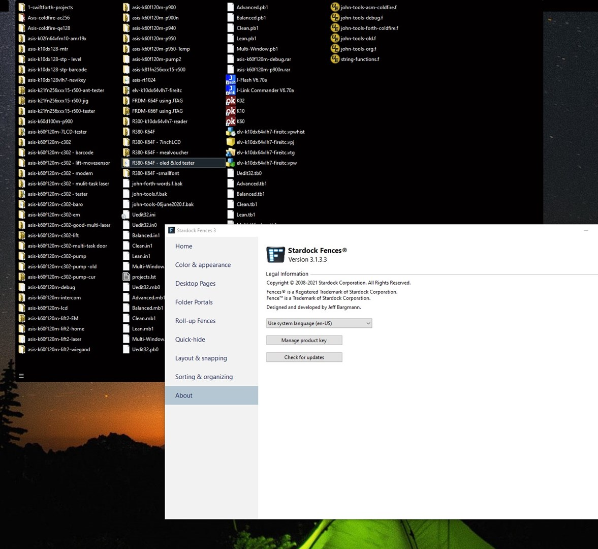 fence display not working but can show on pc screen capture